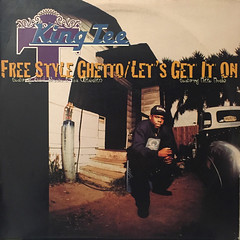KING TEE:FREE STYLE GHETTO(JACKET A)