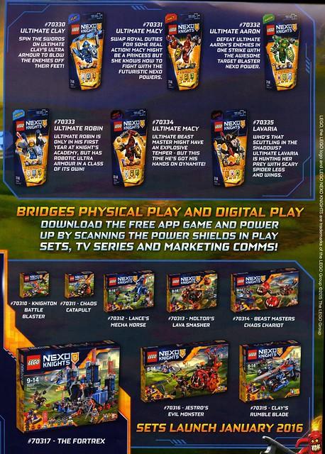 Nexo Knights LEGO - Marketing campaign