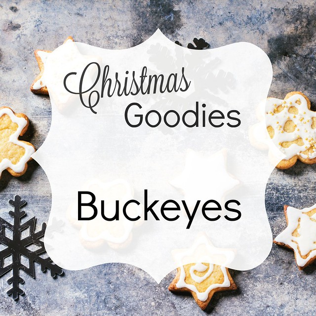 Christmas Goodies: Buckeye Recipe