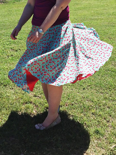 Cherry Days Skirt