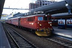 NSB El13.2157 with train to Røros