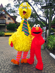 Big Bird and Elmo