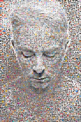 Photomosaic Self II