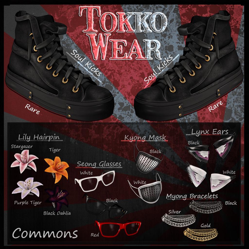 Le Morte - Tokko Wear - Gacha Ad - SecondLifeHub.com