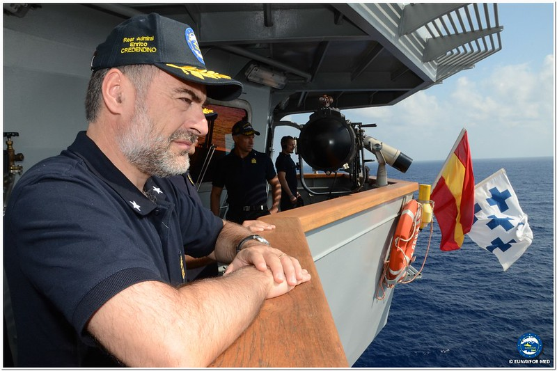 Operation Commander R.A. (UH) Enrico Credendino – Op. Sophia EUNAVFOR MED