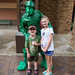 Maddie, Nate and an Army man