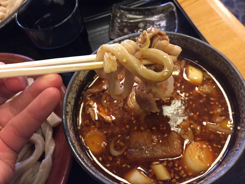 武蔵野うどん とこ井_肉辛汁3
