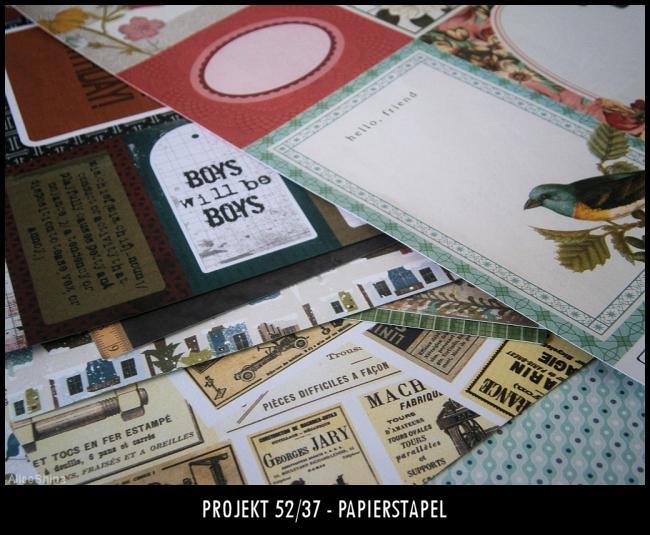 Projekt 52/37 - Papierstapel