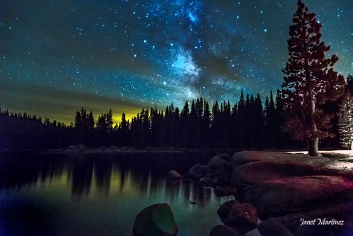 The Light in the Darkness of Yosemite