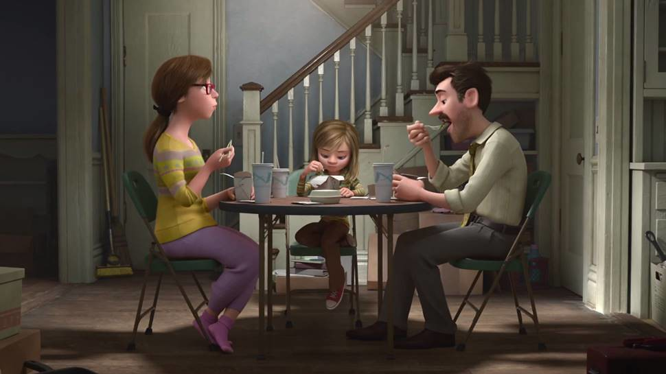 Inside Out Meet Andersen Family - Screenshot