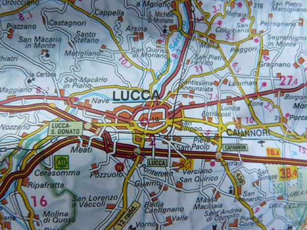Lucca carte
