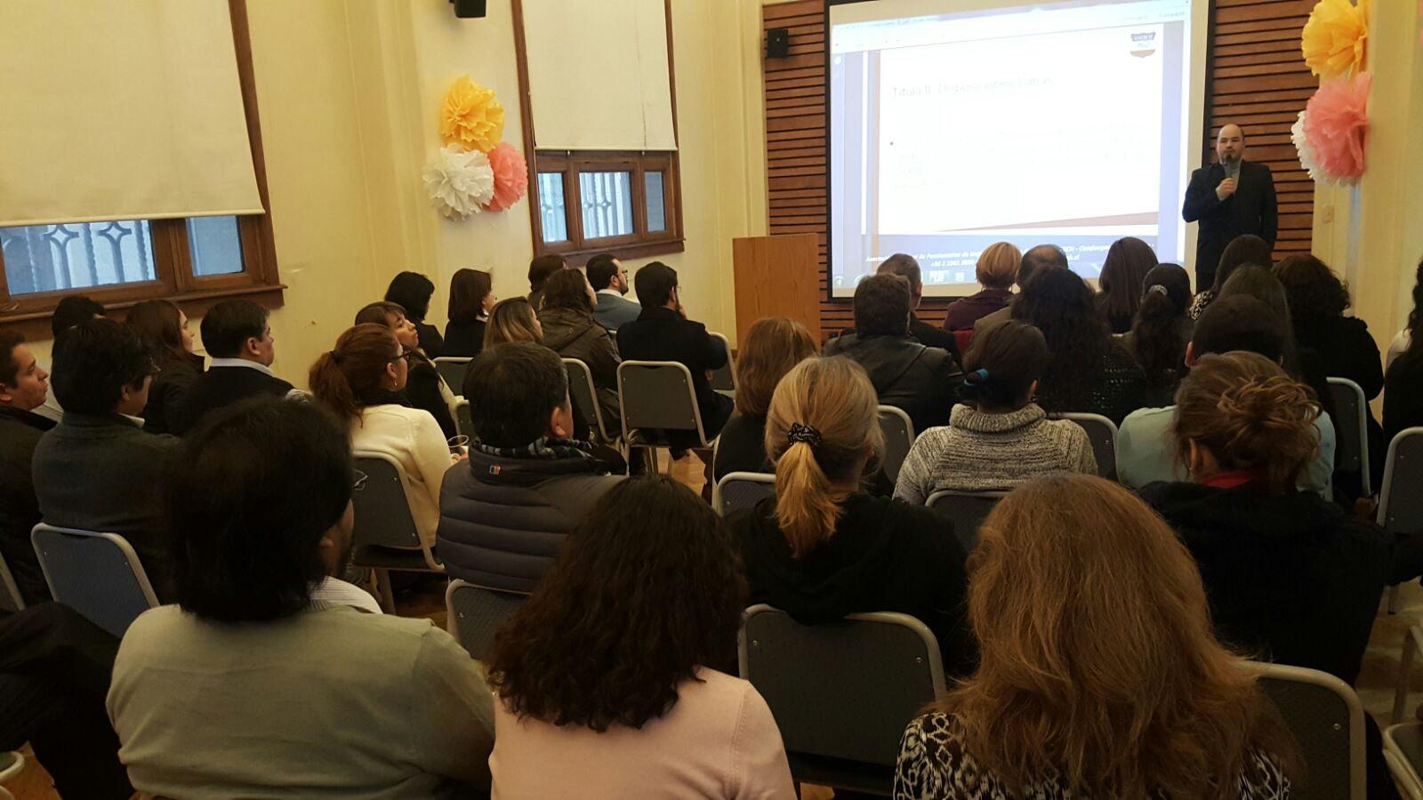 Aneiich DNDGC realiza Asamblea Regional por estado de avance DFL que implementa Ley de Fortalecimiento - 09 Septiembre 2015