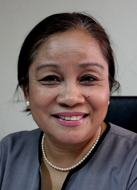 Tacloban City Treasurer Zosima A. Cordano