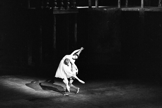 Lynn Seymour as Juliet and Christopher Gable as Romeo in Romeo and Juliet (1965) © 1965 ROH. Photograph by Donald Southern