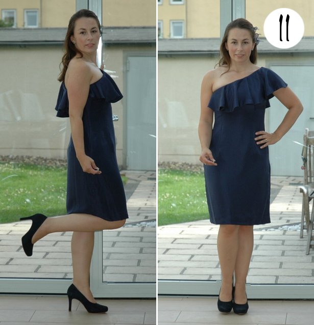 11 navy dress