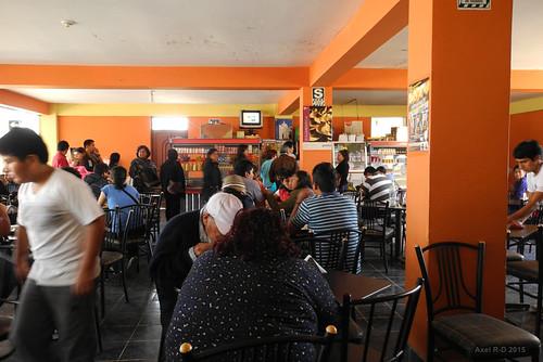 restaurant perú personnes