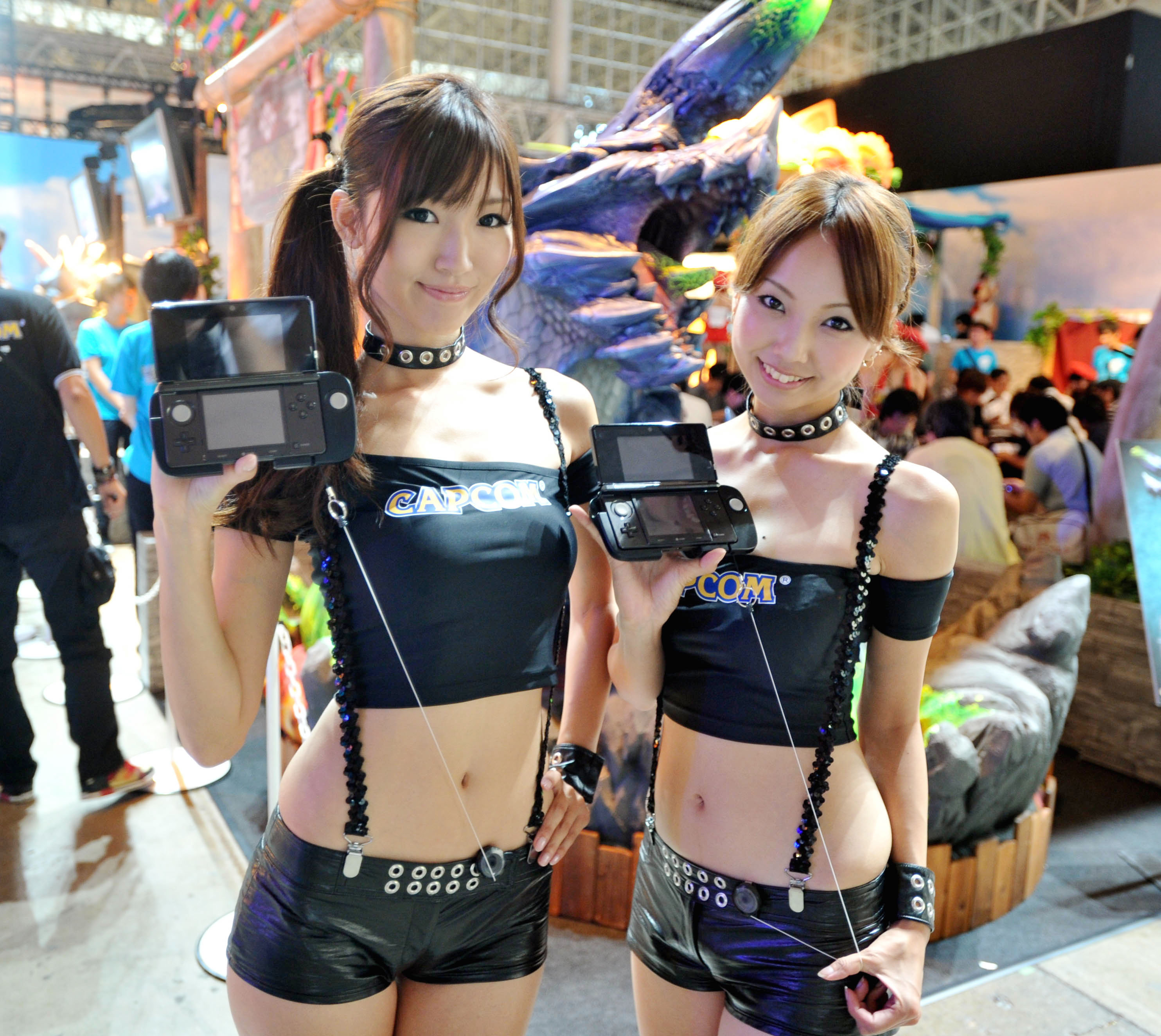 TOKYO GAME SHOW 2011 .at Makuhari Messe, in  Chiba prefecture, . Business day, on Sept.15, 2011. MIURA PHOTO