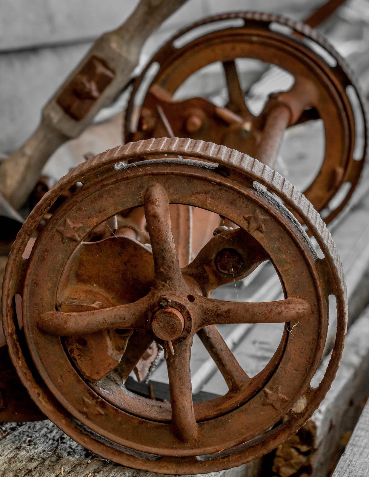 old mower