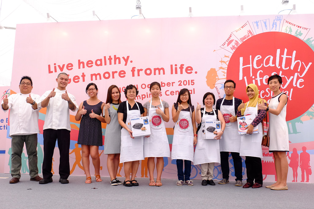 Mohamed Yatim & Rose Azryena @ the Healthy Lifestyle Festival SG