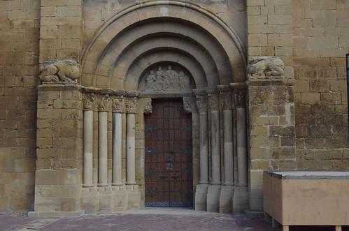 Biota (Aragon), San Miguel - sculpture romane - 01