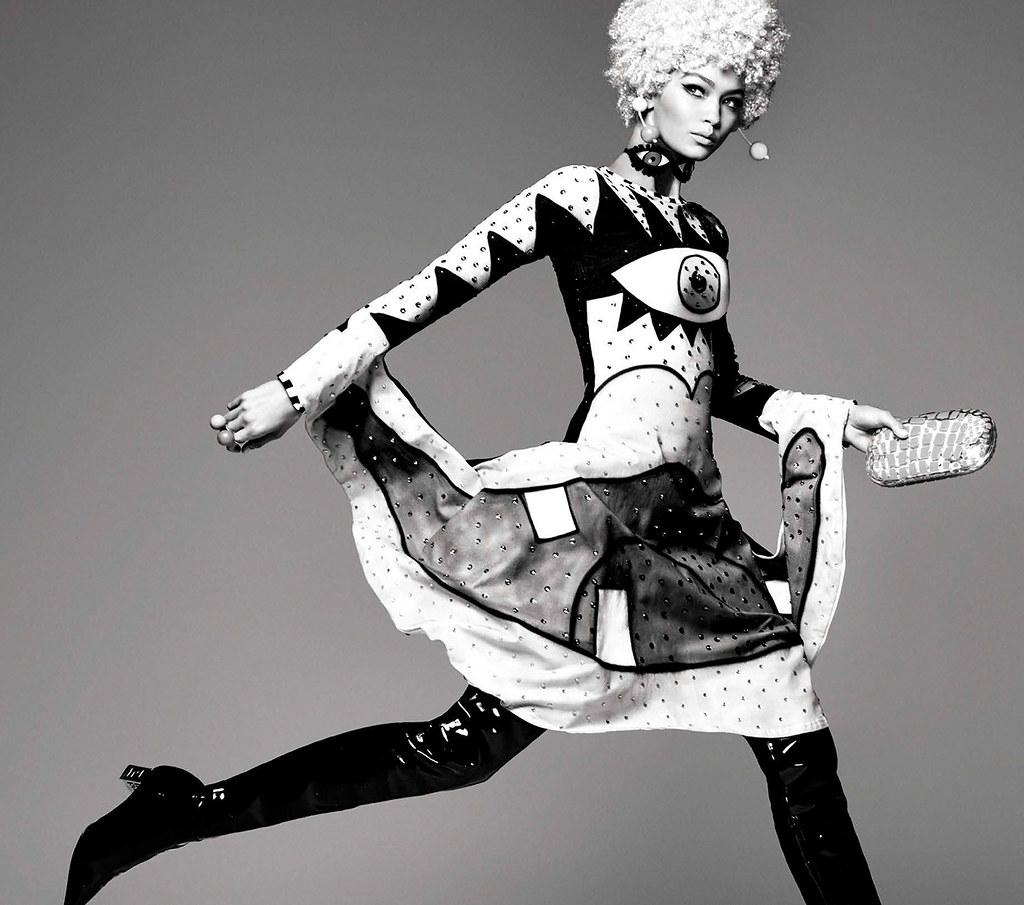 Джиджи Хадид — Фотосессия для «Vogue» IT 2015 – 5