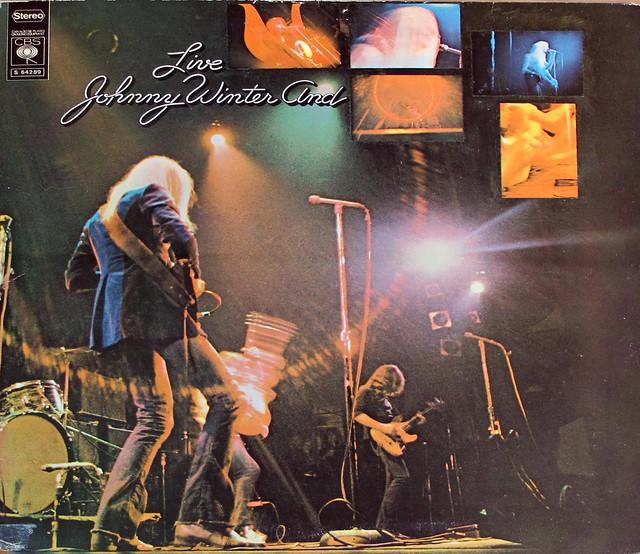 "JOHNNY WINTER AND LIVE GATEFOLD 12"" LP VINYL"