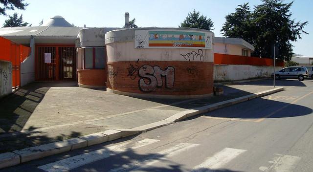 Casamassima- edilizia scolasticaL'Istituto Alberghiero Majorana (2)