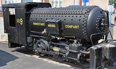 Homestake Mining Company # 9 (0-4-0CA)