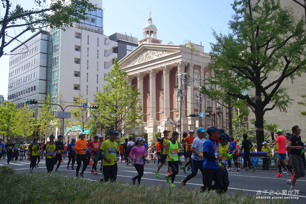 大阪馬拉松-跑步-19