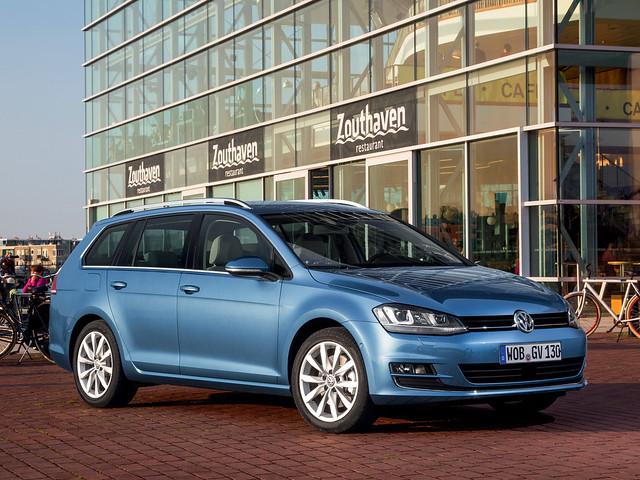 Volkswagen Golf TDI BlueMotion Variant (Typ 5G). 2013 год