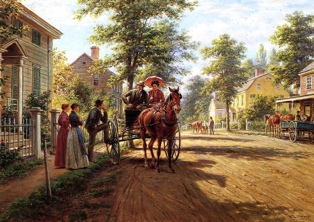 One Sunday Afternoon by Edward Lamson Henry - 1902
