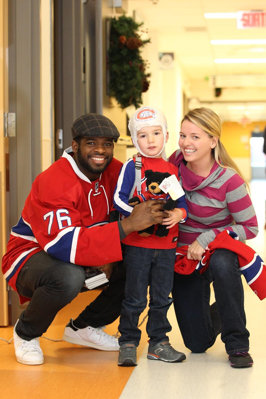 Visite des Canadiens de Montréal / Montreal Canadiens' Visit