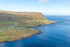 Helicopter ride @ Tvøroyri - Suðuroy