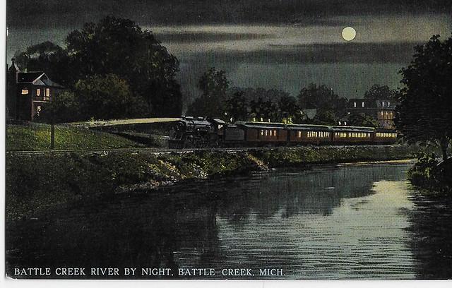 Battle Creek Night Train 1910