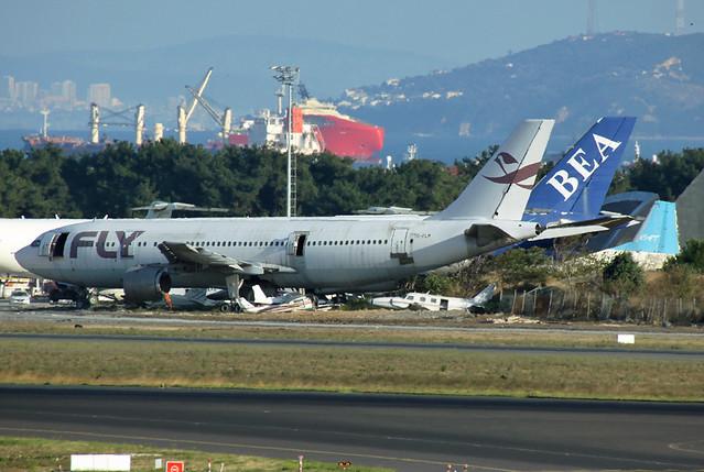 TC-FLM Fly Air A300B2K-3C Istanbul-IST 26/10/2015