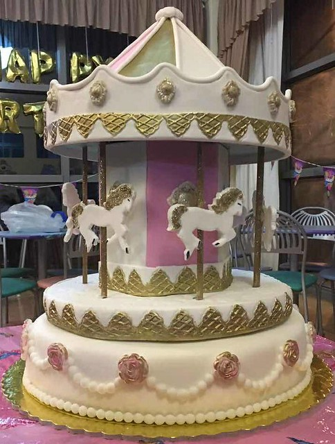Carousel Cake by Gianna Miliosi