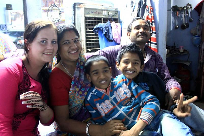 Tuk tuk driver, India