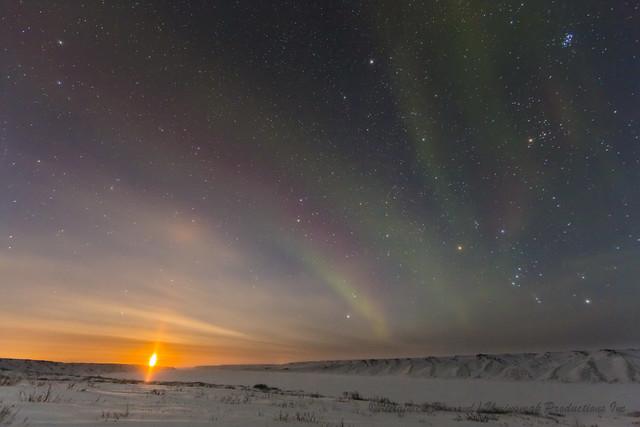 Arctic moonrise-5959