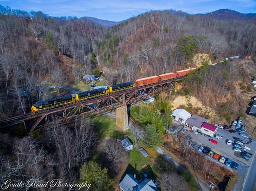 canton north carolina trestle bridge watco