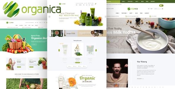 Organica v1.0 – Organic, Beauty, Natural Cosmetics, Food, Farn and Eco WordPress Theme