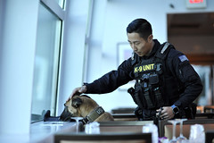 Coast Guard MSST K-9 team supports the 58th Presidential Inauguration security