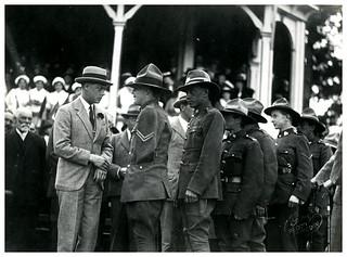 Prince of Wales in Ashburton, Royal Tour 1920
