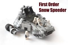First Order Snow Speeder