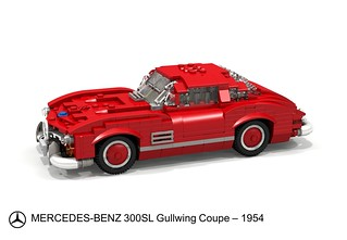 Mercedes-Benz 300 SL Gullwing - 1954