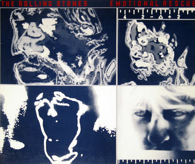 "Rolling Stones Emotional Rescue 12"" Vinyl LP"