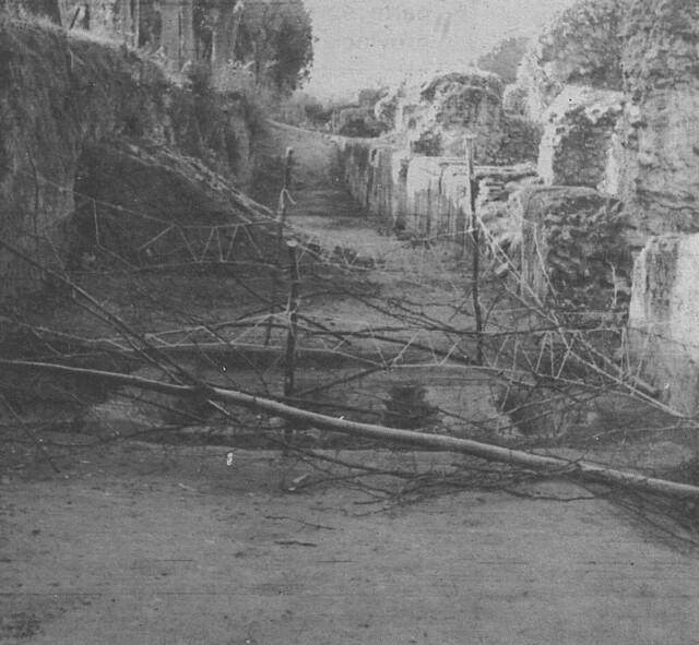 Limpieza en el circo romano de Toledo en 1982