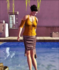 blah.BLAH.blah - sl frees & offers -  Christina Tied Top and Skirt