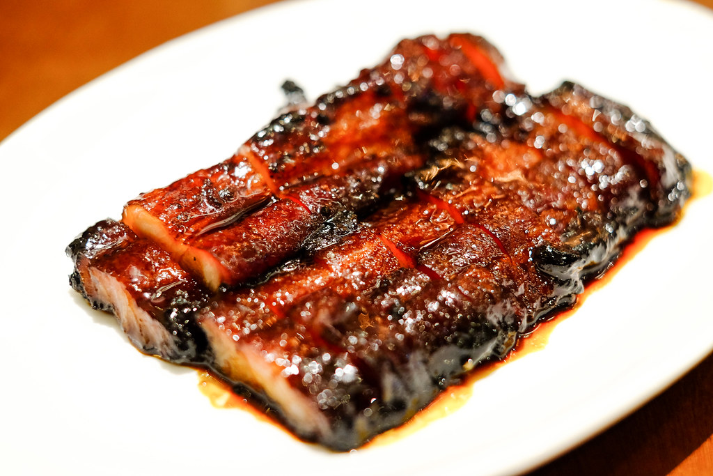 London Fat Duck's BBQ Pork with Honey Sauce