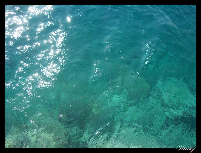 Grecia Olimpia Delfos - Agua del mar Jónico