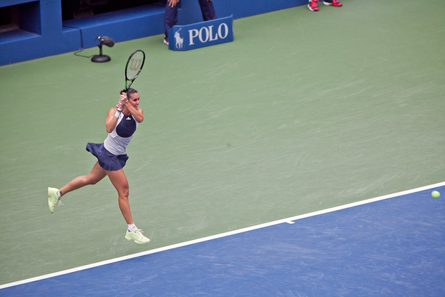 US Open Womens Finals Pennetta backhand